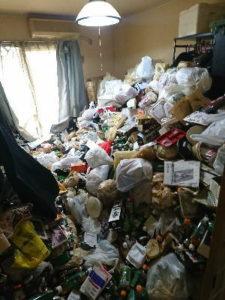 【お家丸ごと片付け・ゴミ屋敷】ワンルームの片付けなのに特殊清掃!?