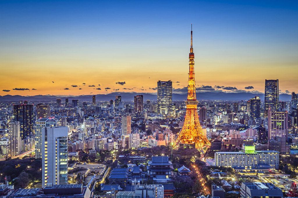 Tokyo, Japan City Skyline